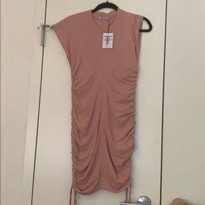 Alexander Wang Tie T-shirt dress